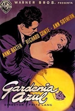 : Błękitna gardenia