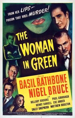 : Kobieta w zieleni