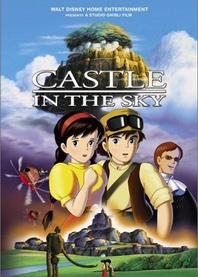Laputa - zamek w chmurach   Laputa – podniebny zamek