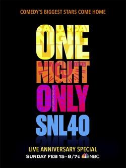 : Saturday Night Live: 40th Anniversary Special