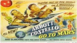 : Abbott i Costello lecą na Marsa