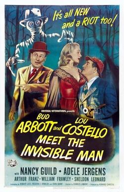 : Abbott i Costello spotykają niewidzialnego człowieka