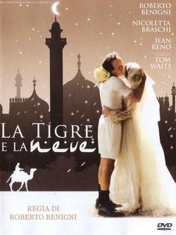 : Tygrys i śnieg