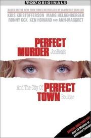 : Perfect Murder, Perfect Town: JonBenét and the City of Boulder