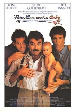 : Trzech mężczyzn i dziecko