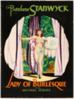 : Lady of Burlesque