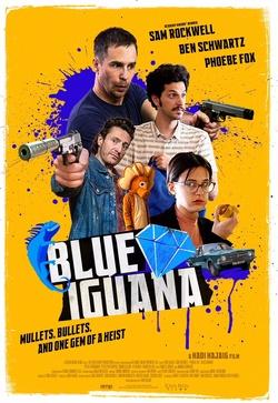 : Błękitna iguana