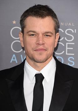 Plakat: Matt Damon
