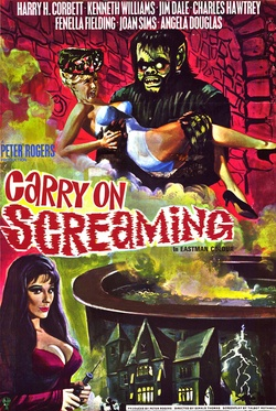 : Carry on Screaming!
