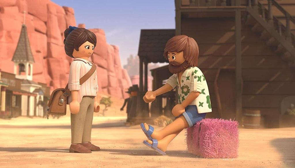 Playmobil Film - kadr z Dzikiego Zachodu