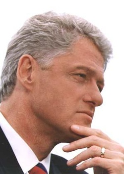 Plakat: Bill Clinton