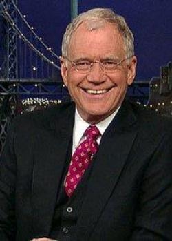 Plakat: David Letterman