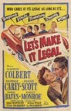 : Let's Make It Legal