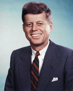 Plakat: John F. Kennedy