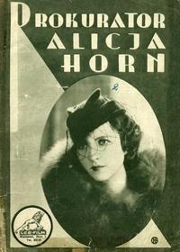 Prokurator Alicja Horn