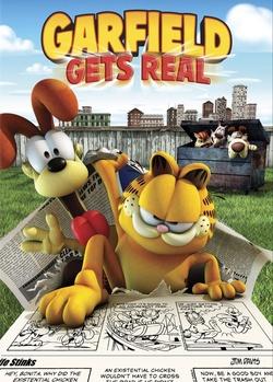 : Garfield ucieka z komiksu