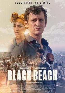 : Czarna plaża