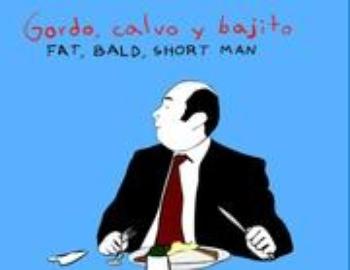 Fat Bald Short Man