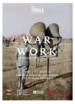 : War Work, 8 Songs with Film
